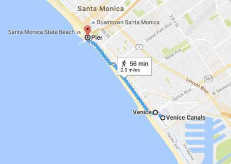 LA Beach Walk